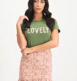 Lofty Manner Green t-shirt Isabeau