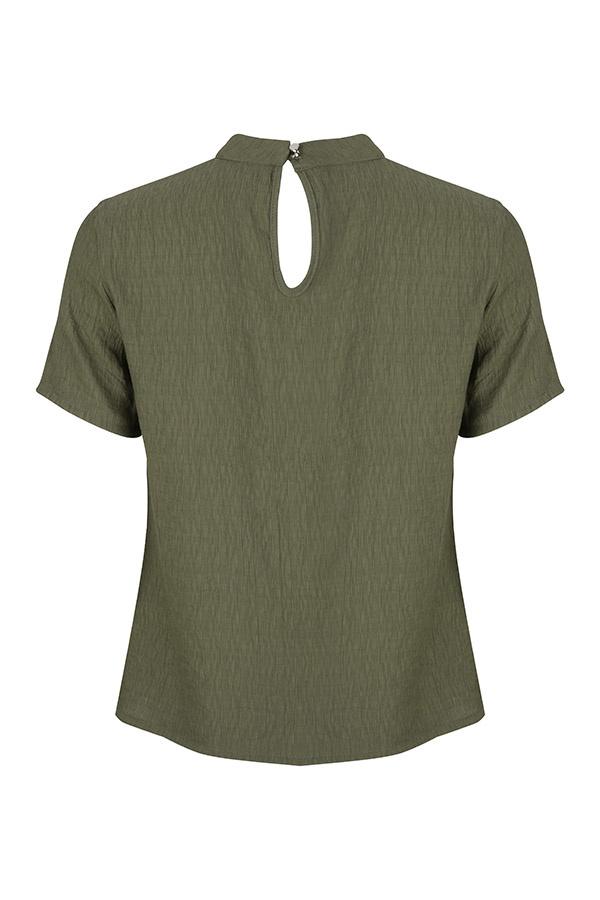 Lofty Manner Moss green Top Jolijn