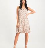 Lofty Manner Powder pink floral print summer dress Leslie