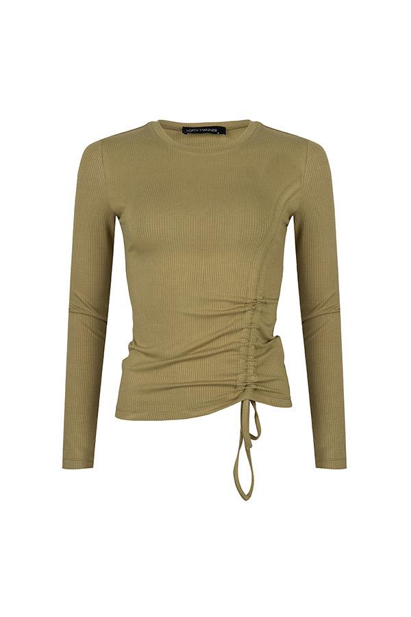 Lofty Manner Army green Shirt Lona