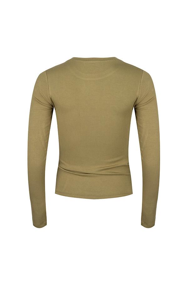 Lofty Manner Legergroen Shirt Lona