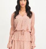 Lofty Manner Pink Floral Print Blouse Carla
