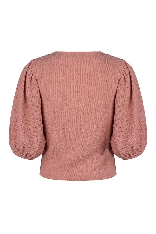 Lofty Manner Roze Pofmouw Top Zita