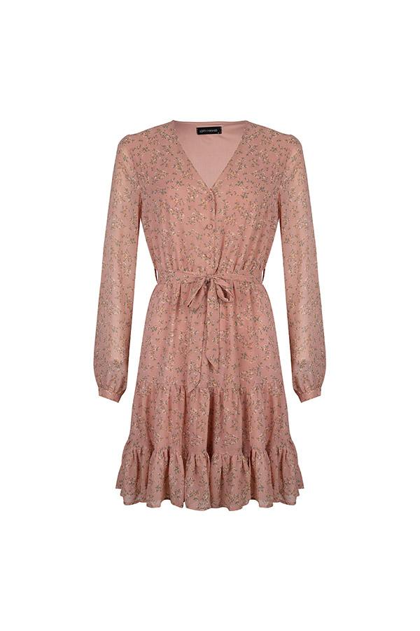 Lofty Manner Pink Dress Donya