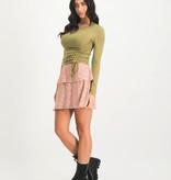 Lofty Manner Pink Skirt Alita