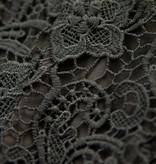 Lofty Manner Black Lace Bodysuit Hester