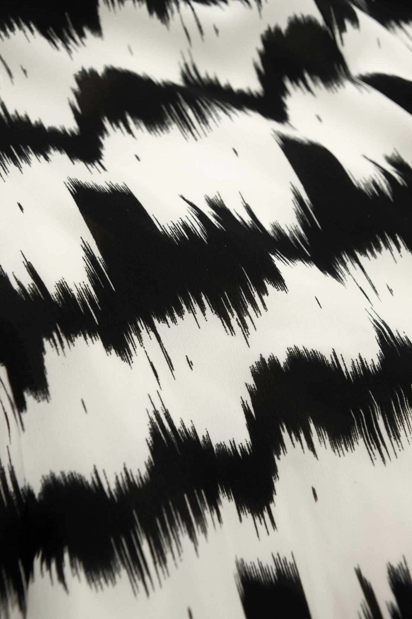 Lofty Manner Zwart Wit Jurk   Renate