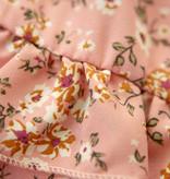 Lofty Manner Pink Floral Print Mini Skirt Myra