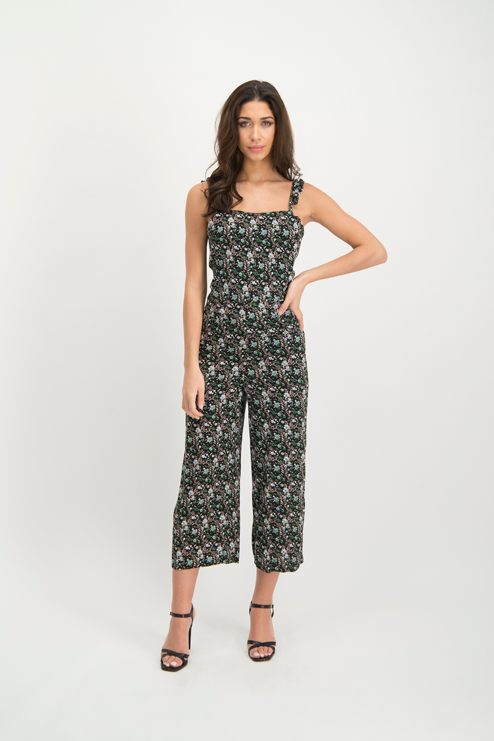 Lofty Manner Donkere Jumpsuit Rozy