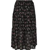 Lofty Manner Bloemenprint Midi Rok Madelon