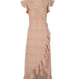 Lofty Manner Peach maxi dress Felisa