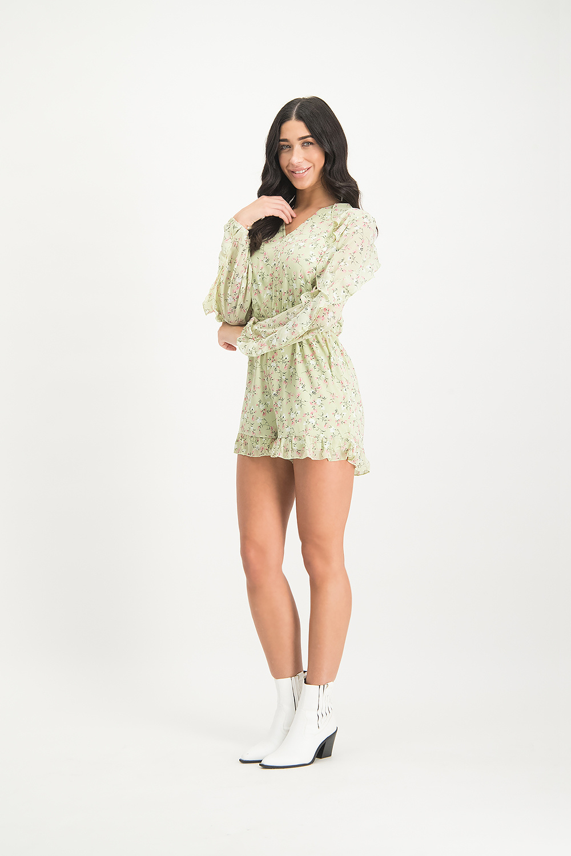 Lofty Manner Jumpsuit Bibian Mint