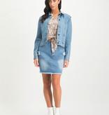 Lofty Manner Rok Avelie blauw