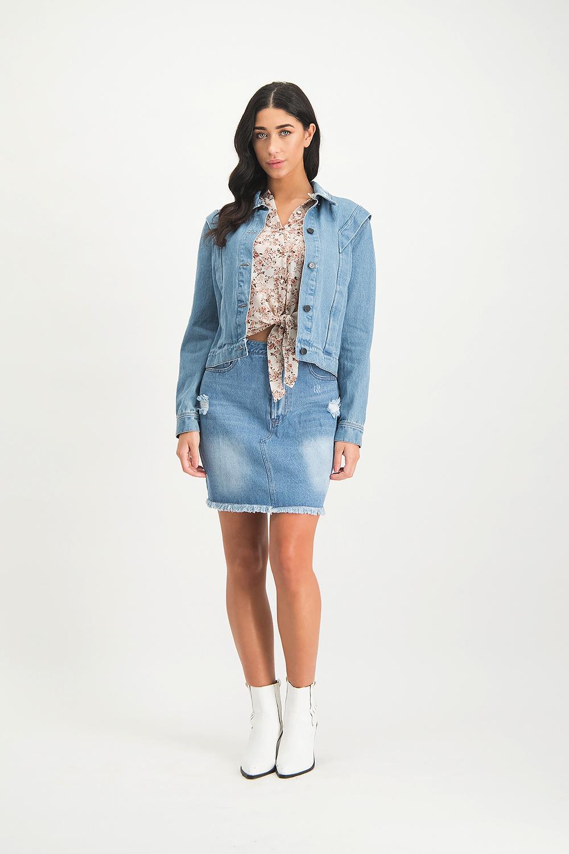 Lofty Manner Skirt Avelie blue