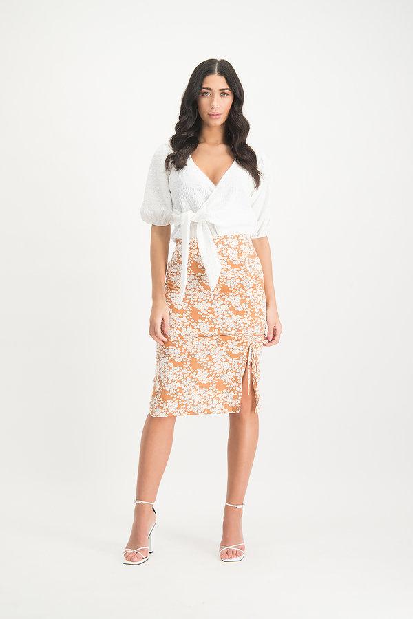 Lofty Manner Skirt Sage