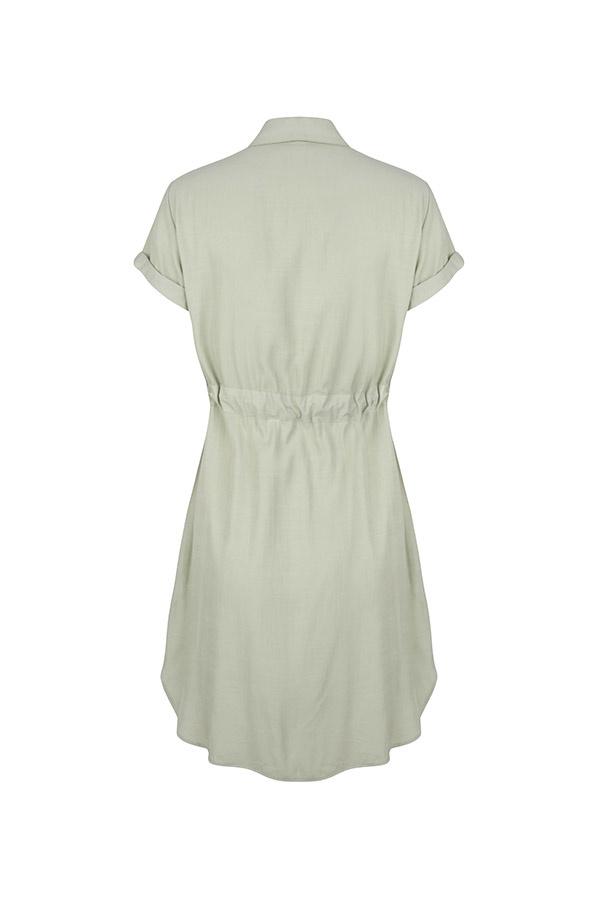 Lofty Manner Mint green blouse dress Florine