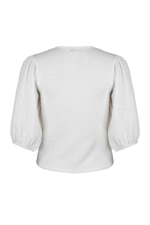 Lofty Manner Witte Pofmouw Top Zita