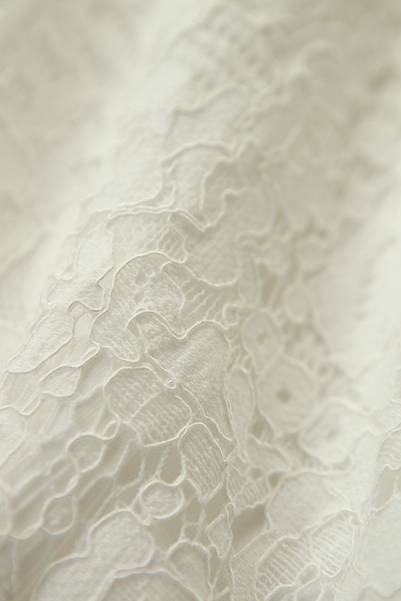 Lofty Manner Witte kanten Jumpsuit Chaja