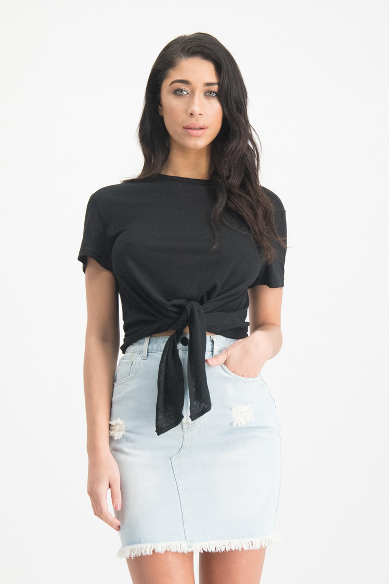 Lofty Manner Black Shirt Edie