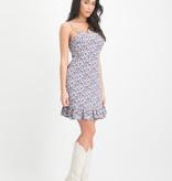 Lofty Manner Summery Floral Print Dress Venna