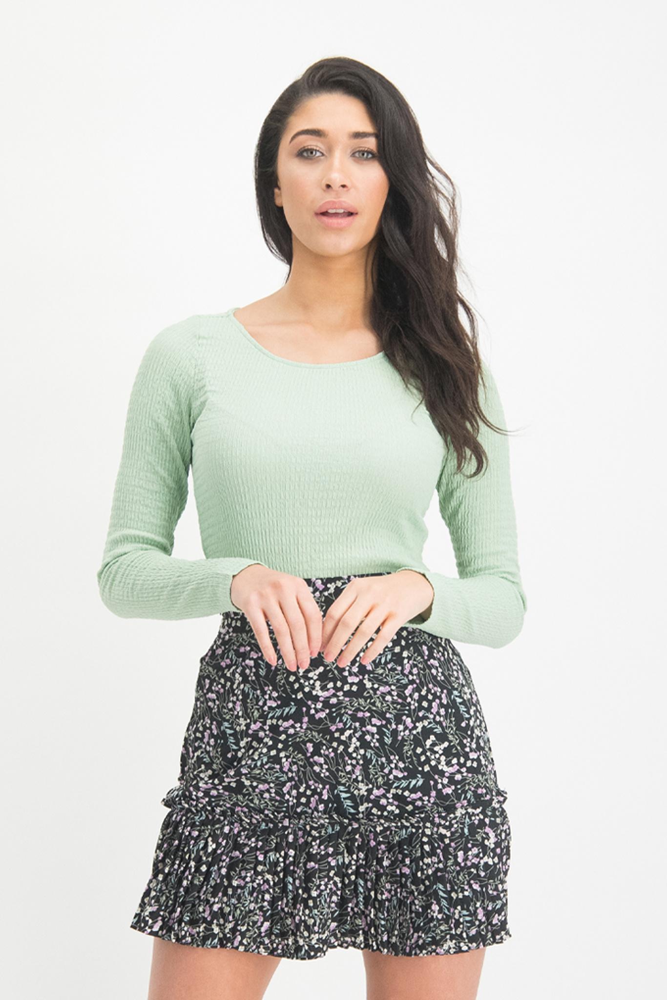 Lofty Manner Mint colored Top Ilse
