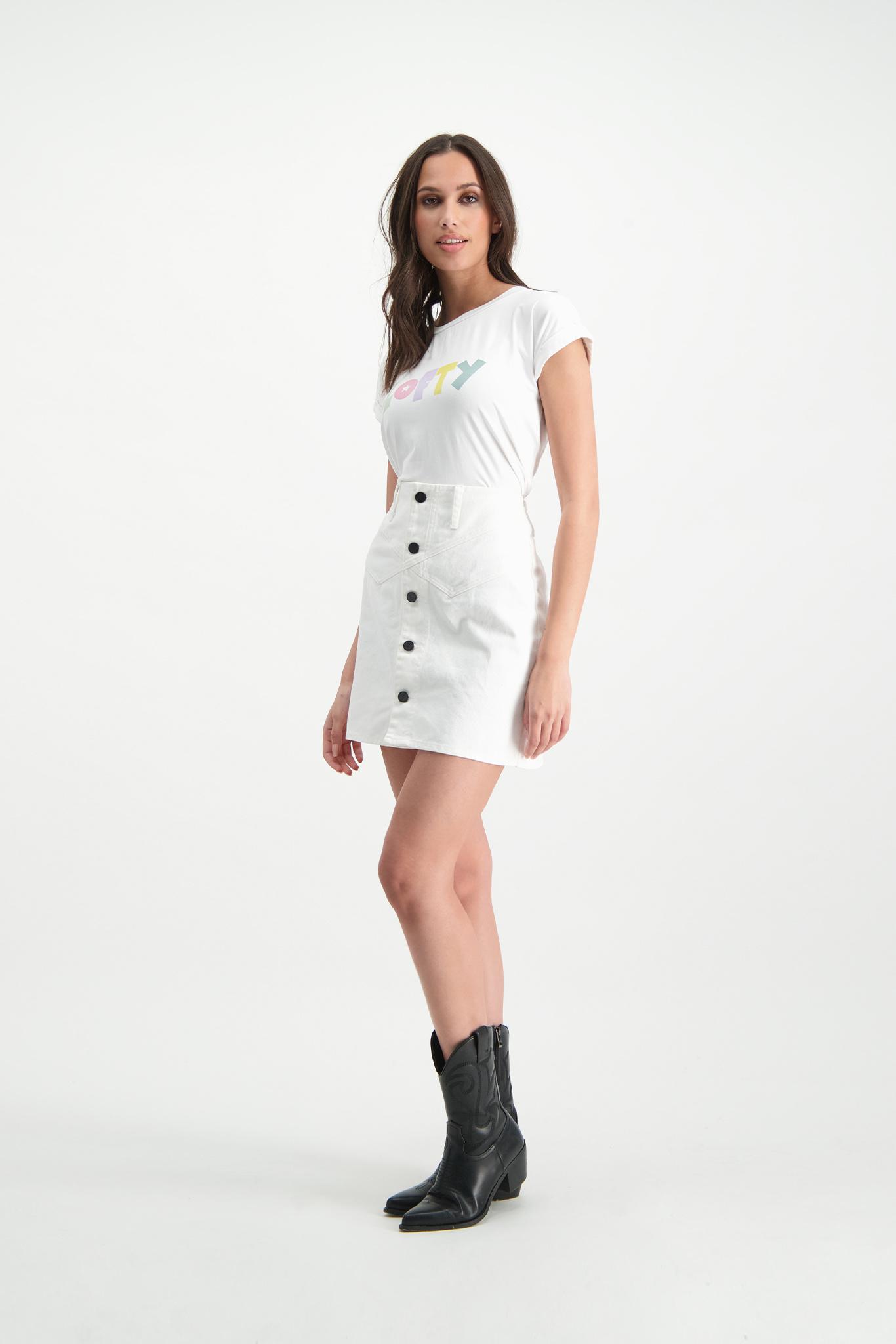 Lofty Manner T-shirt Issy white