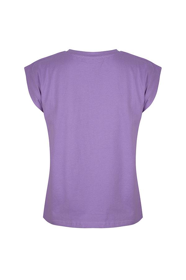 Lofty Manner Paars T-shirt Dani