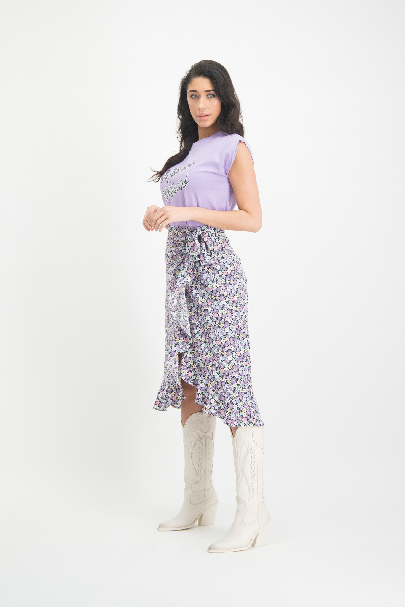 Lofty Manner Purple T-shirt Dani