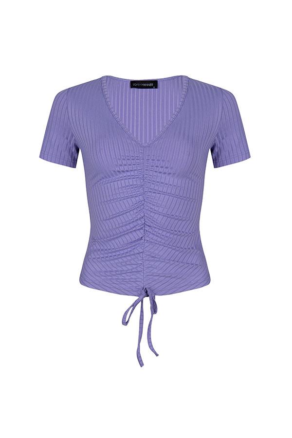 Lofty Manner Lilac Shirt Dunya