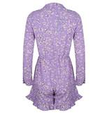 Lofty Manner Purple Floral Print Playsuit Vesper