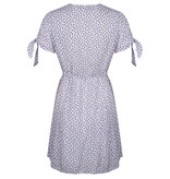 Lofty Manner Purple Floral Print Dress Hedwig