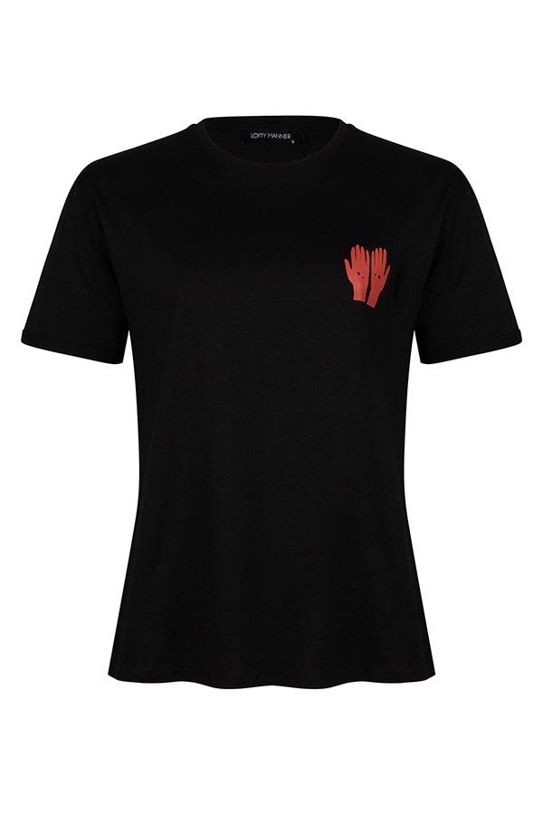 Lofty Manner T-shirt Rozie Zwart