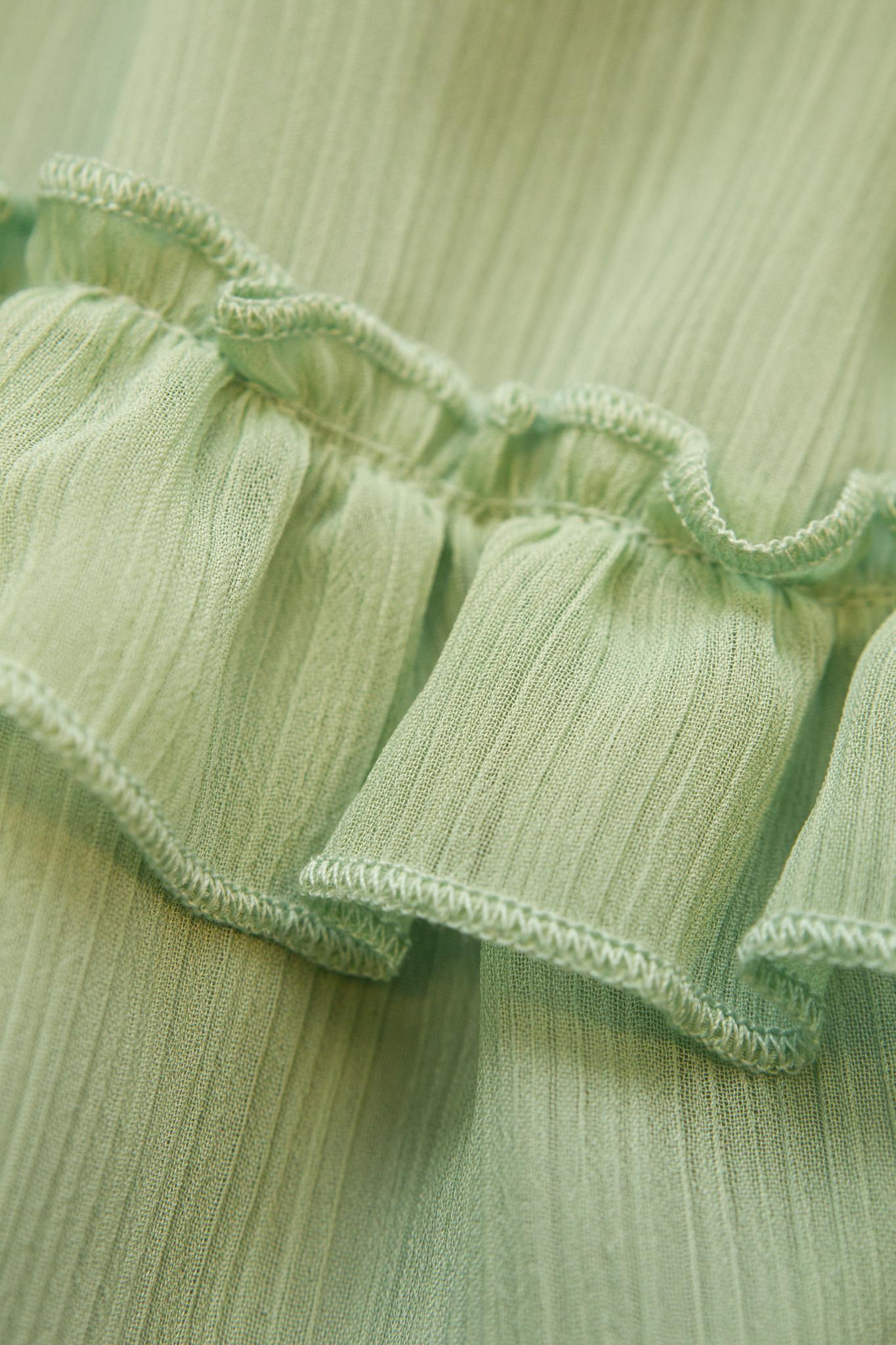 Lofty Manner Groene Midi Dress Philou
