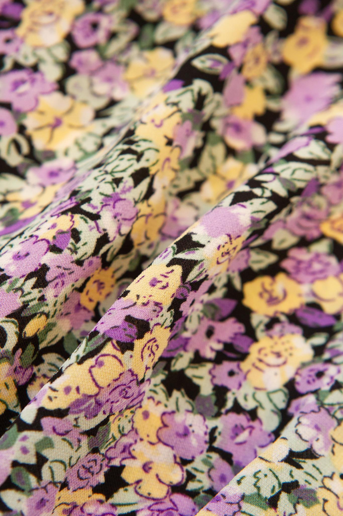Lofty Manner Bloemenprint Playsuit Sienne