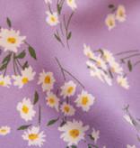 Lofty Manner Paarse Bloemenprint Short Gisela