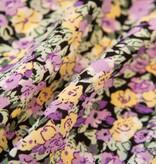 Lofty Manner Purple skirt with flower print Lieza