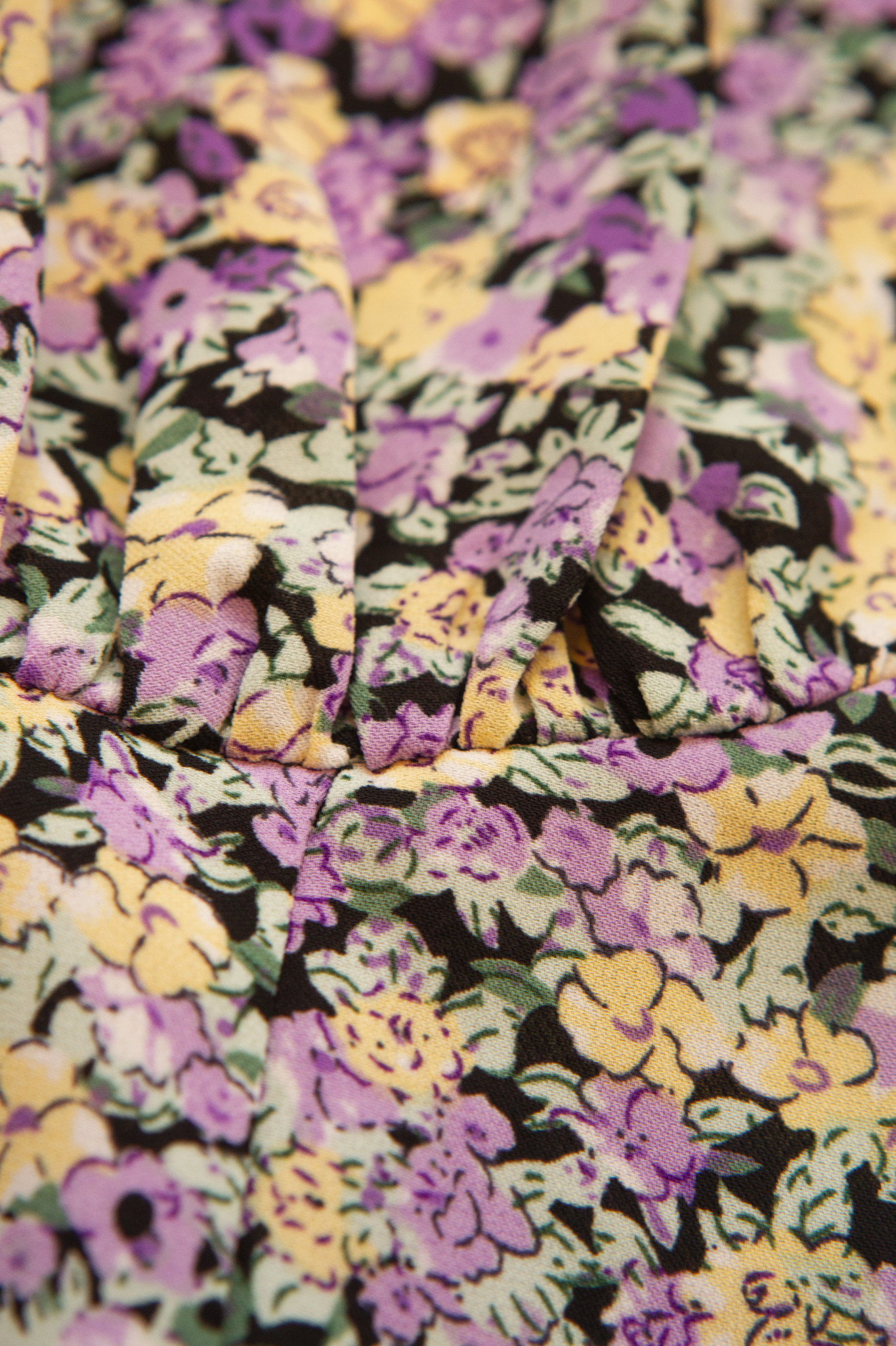 Lofty Manner Paarse Bloemenprint Top Juniper