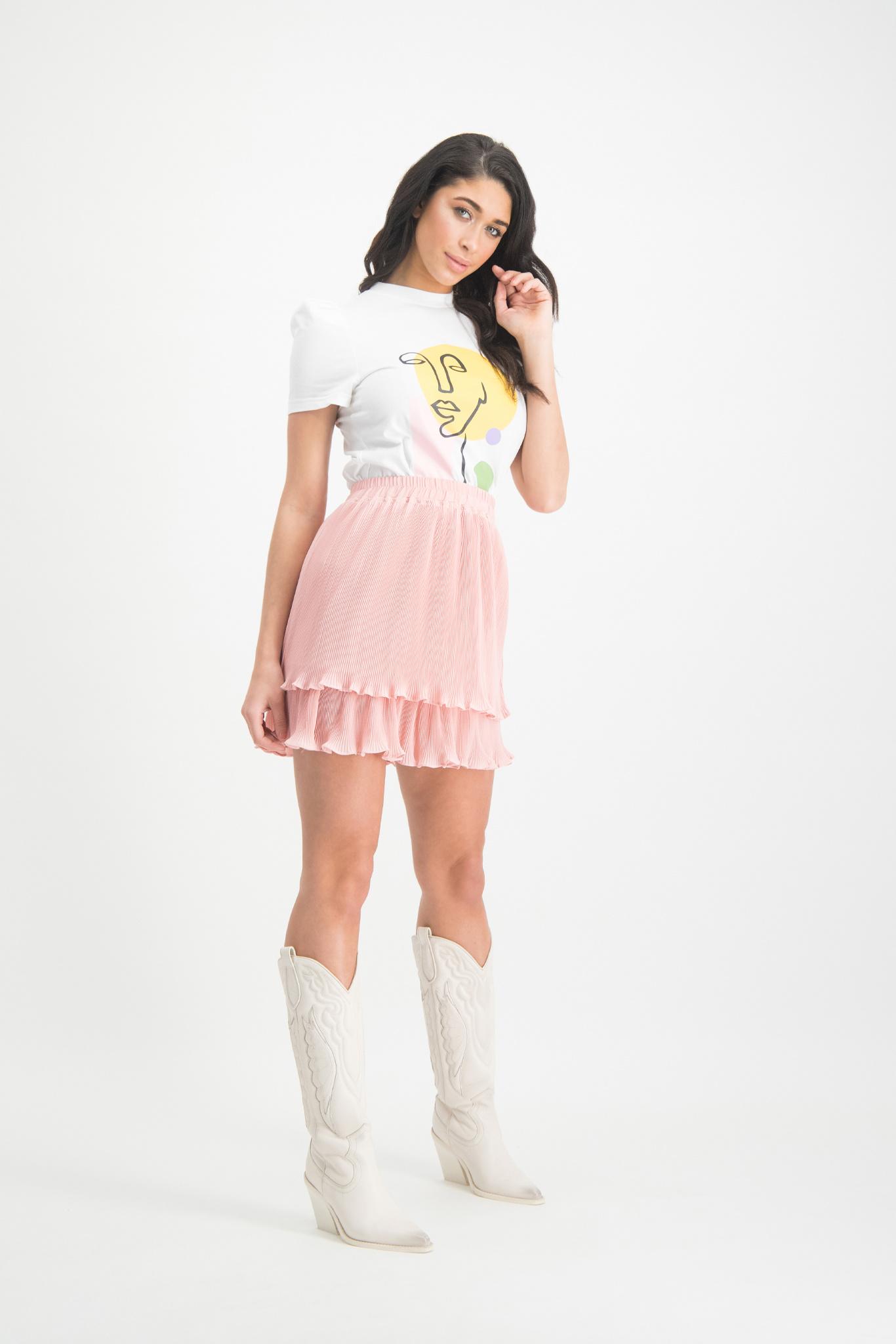 Lofty Manner White t-shirt Alaina