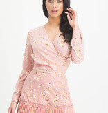 Lofty Manner Roze Bloemenprint Blouse Georgie