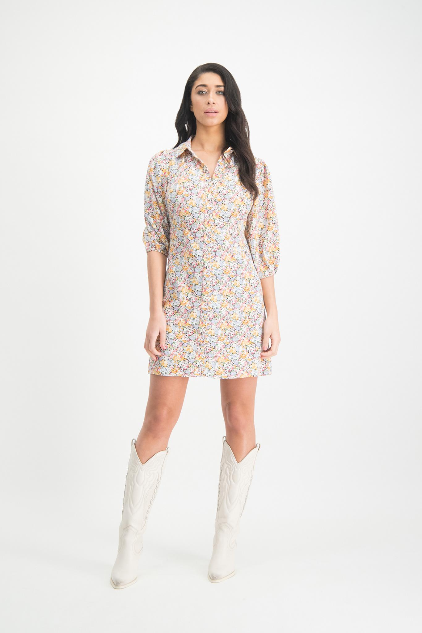 Lofty Manner Multiflower Dress Mikki