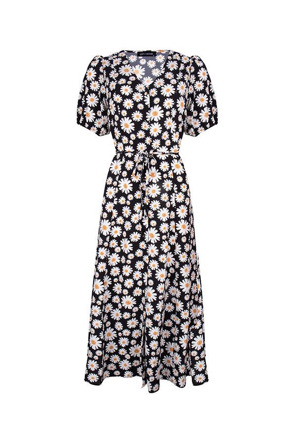 Lofty Manner Zwarte Maxi Dress Myllena