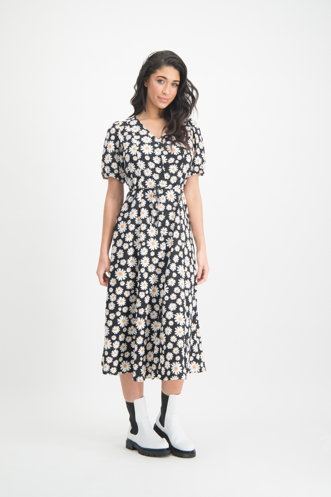 Lofty Manner Black Maxi Dress Myllena