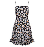 Lofty Manner Black Floral Print Dress Venna