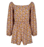 Lofty Manner Yellow floral print Playsuit Sienne