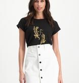 Lofty Manner T-shirt Vienna Zwart