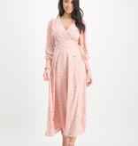 Lofty Manner Roze Maxi Dress Stella