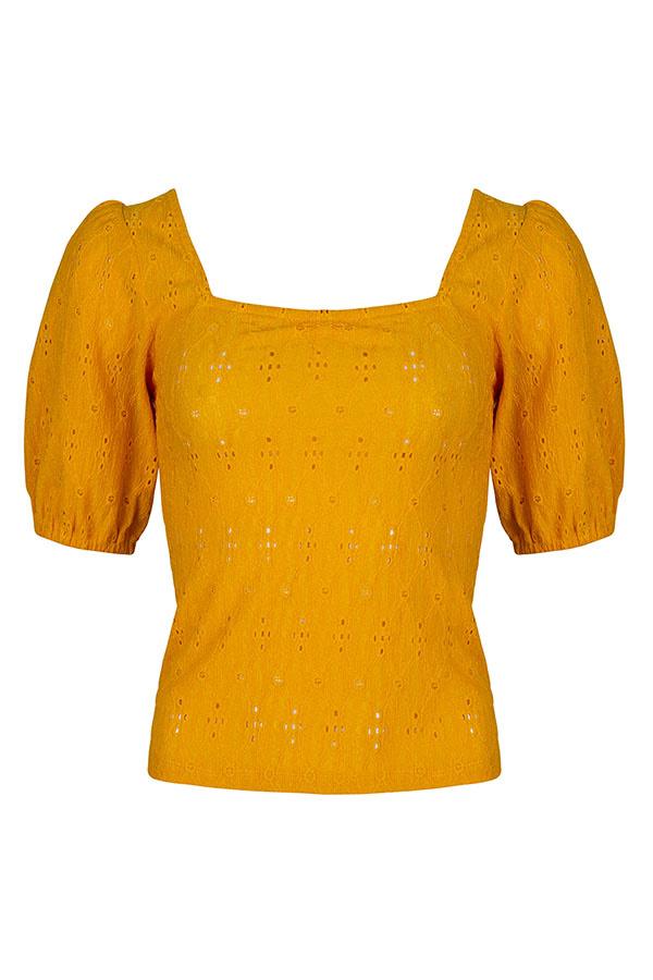 Lofty Manner Yellow Blouse Nadja