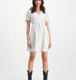 Lofty Manner White Midi Dress Inaya
