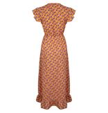 Lofty Manner Orange Maxi Dress Liv