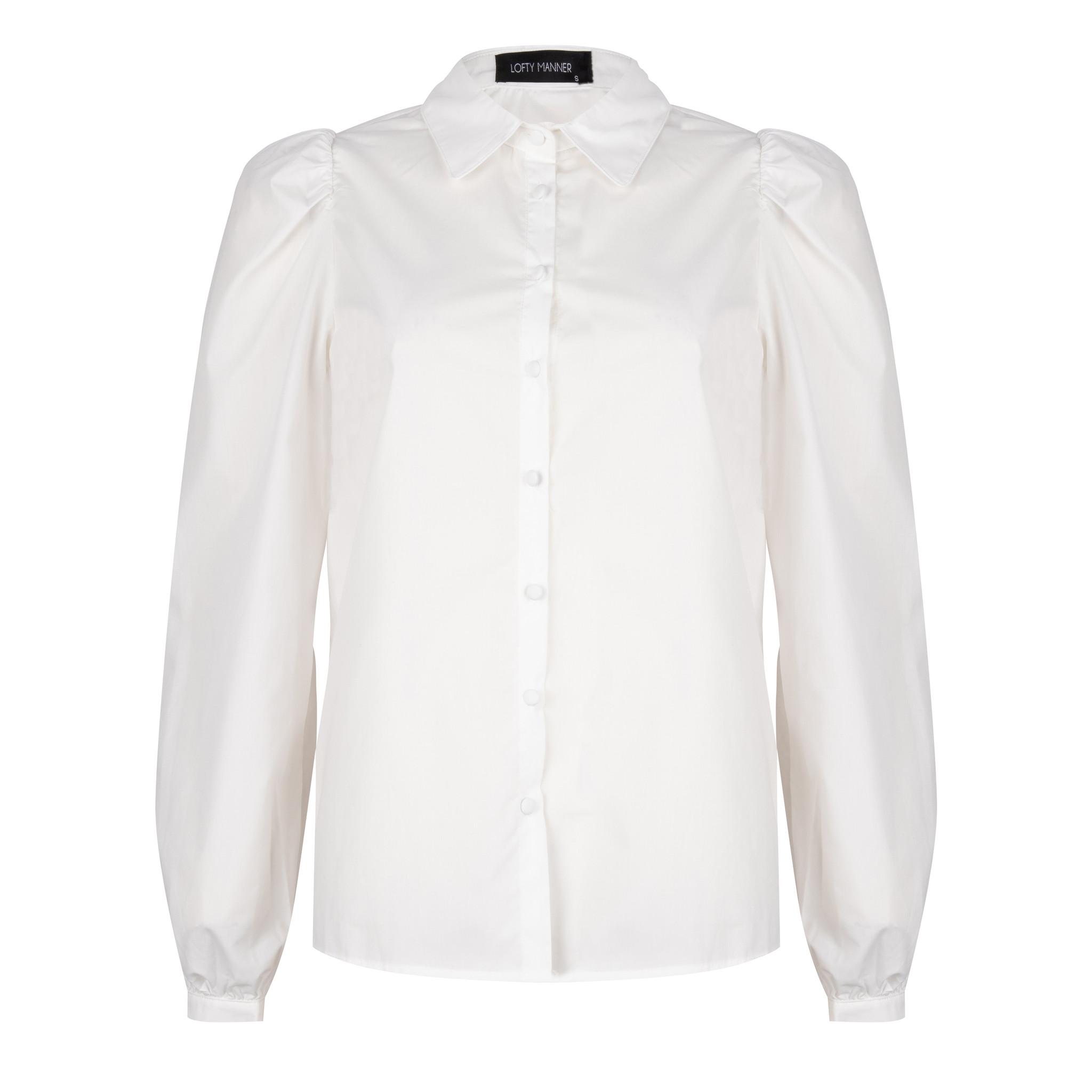 Lofty Manner Witte Blouse Emilou
